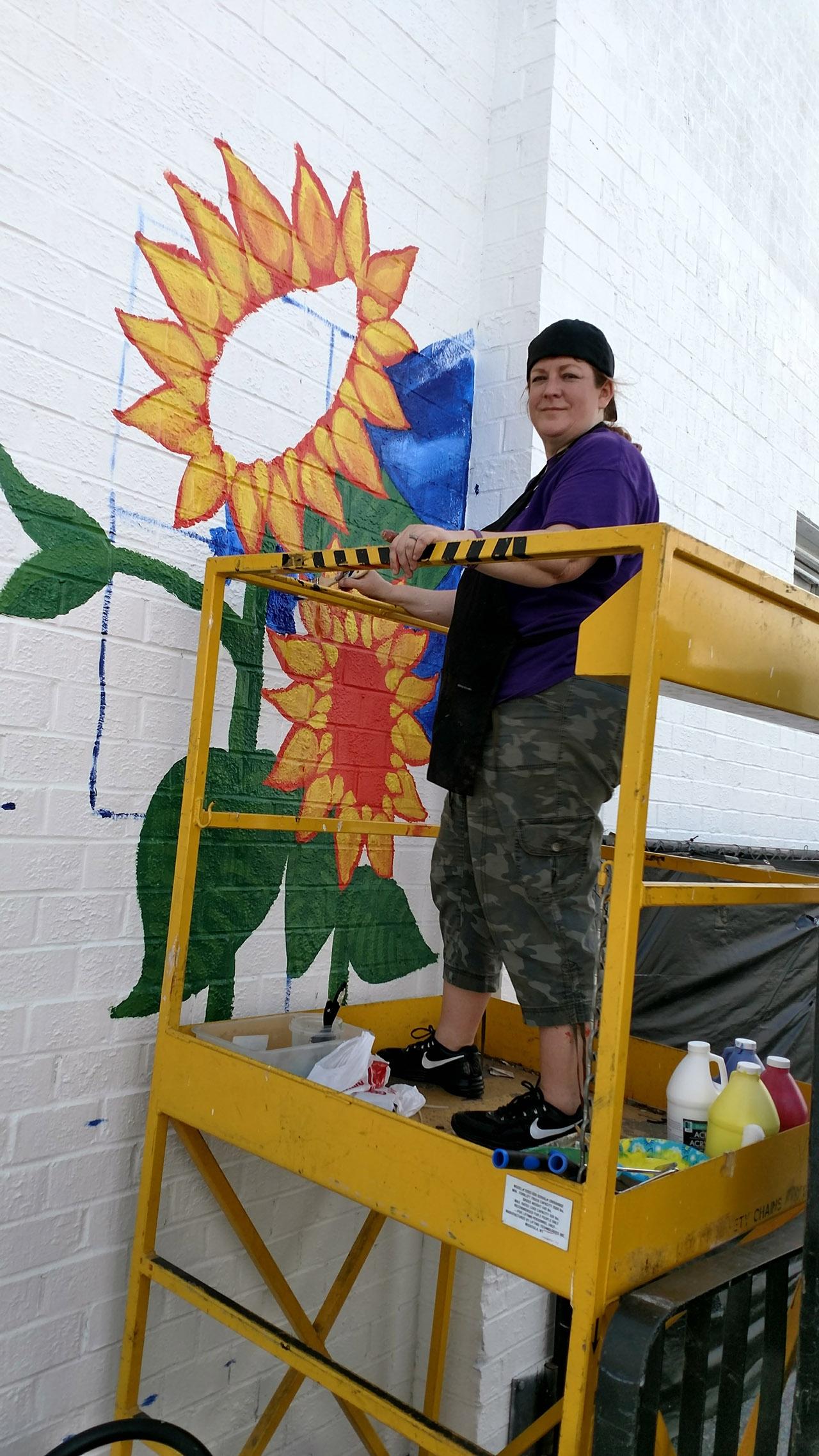 Sunflowers-Mural-Brenda-Kato002