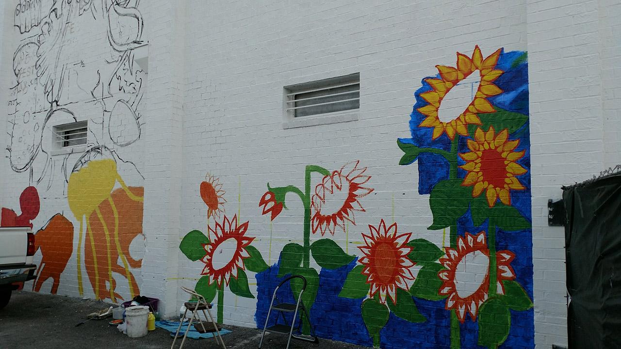 Sunflowers-Mural-Brenda-Kato013