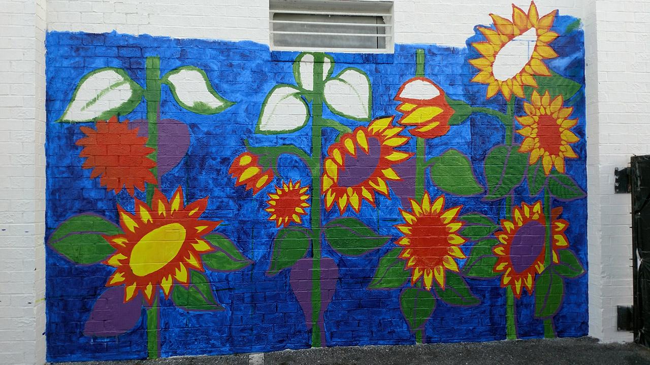 Sunflowers-Mural-Brenda-Kato025