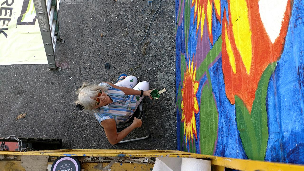 Sunflowers-Mural-Brenda-Kato035