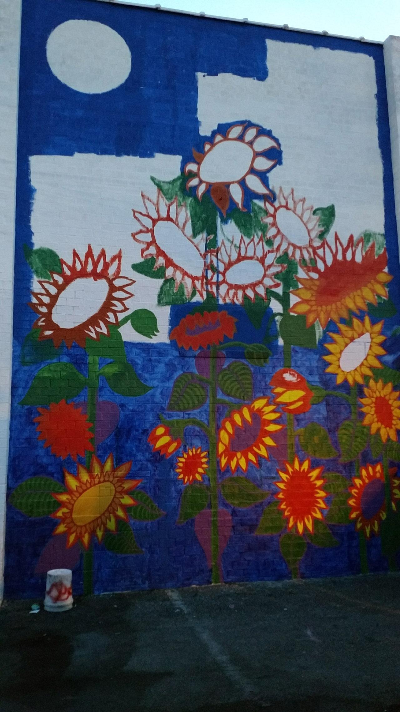 Sunflowers-Mural-Brenda-Kato039