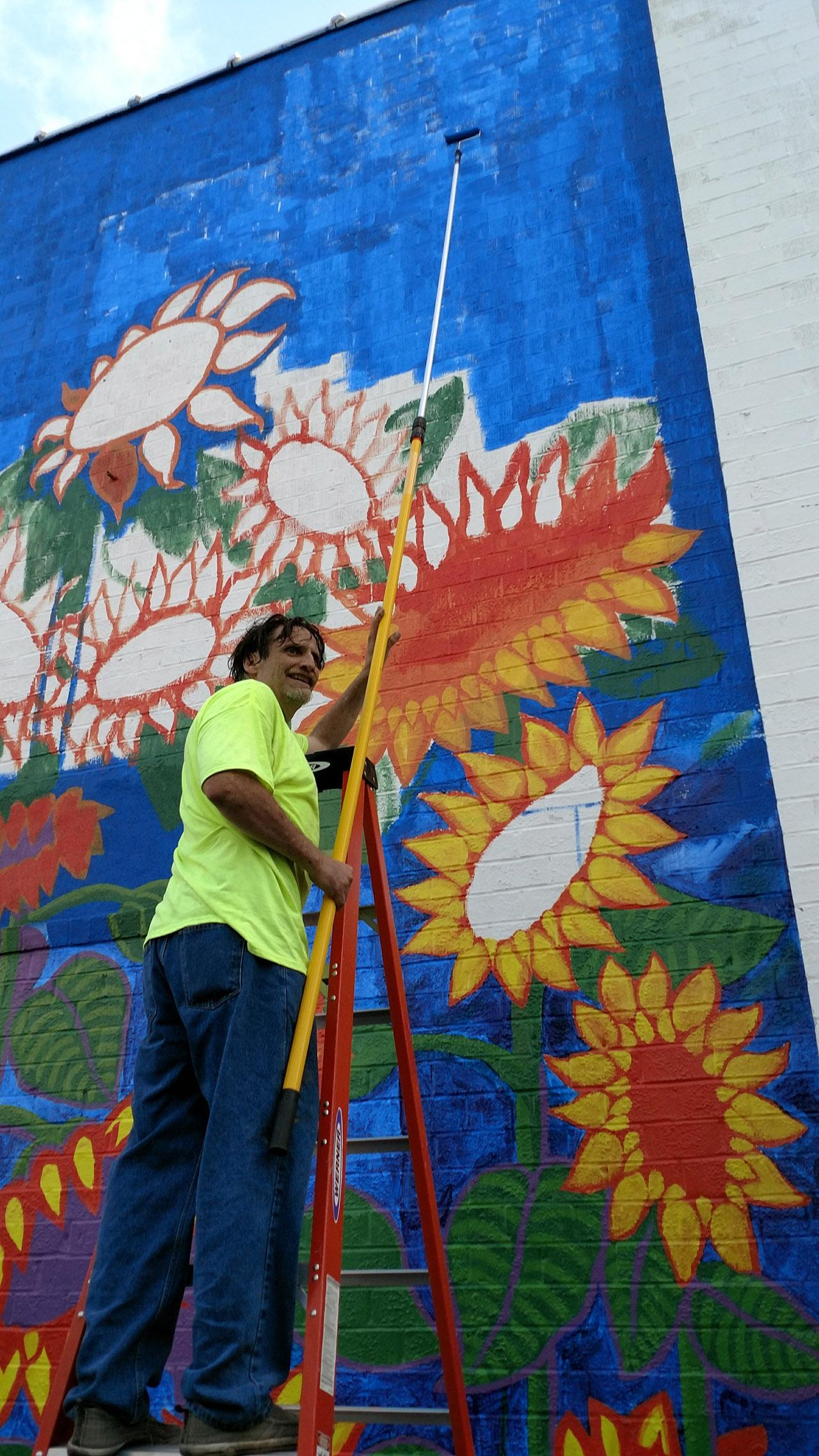 Sunflowers-Mural-Brenda-Kato040