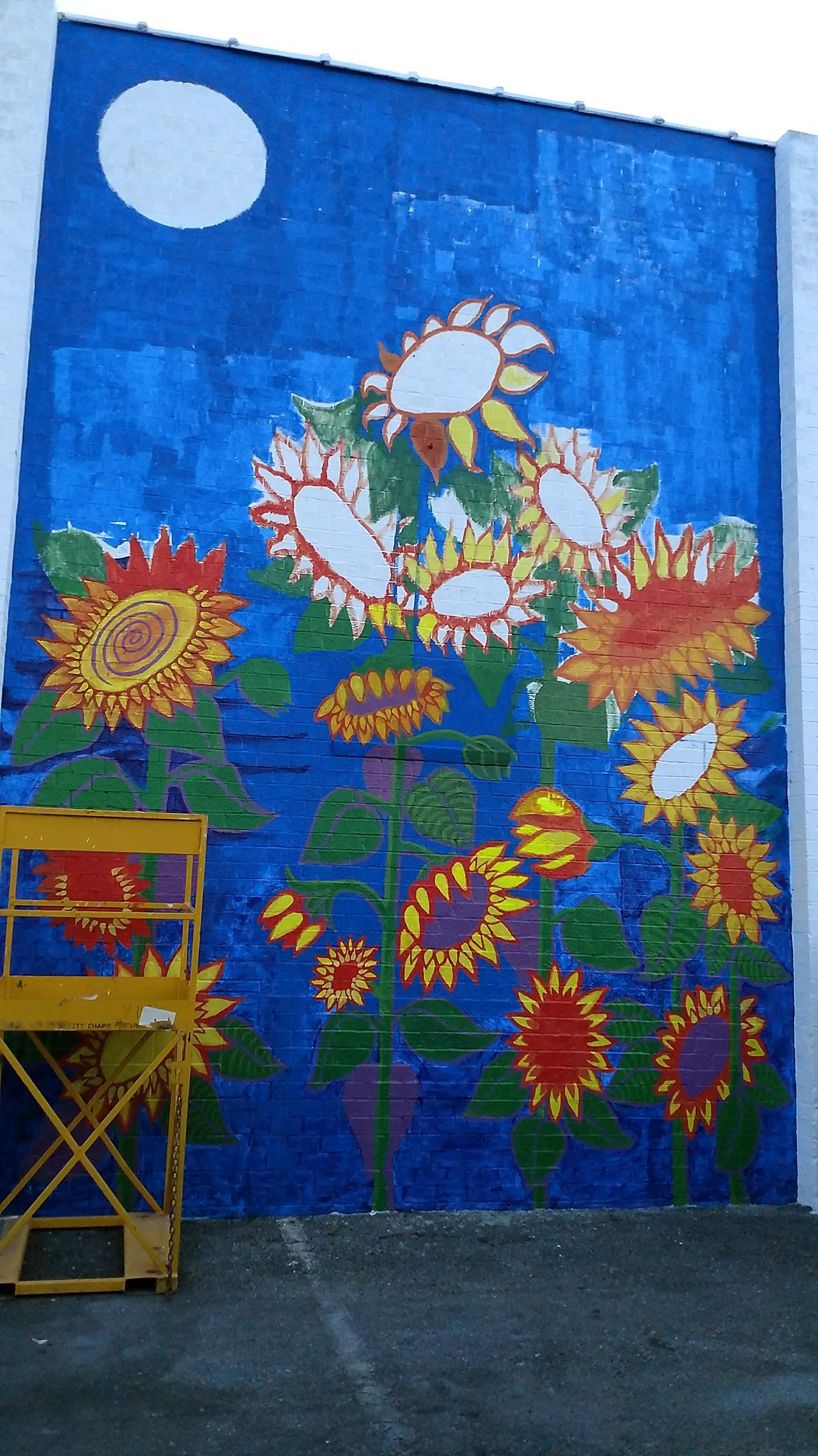 Sunflowers-Mural-Brenda-Kato043