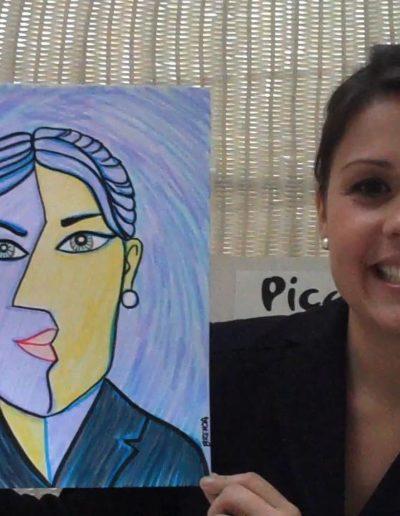 Cubist Portriats 1