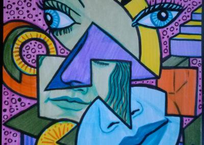 Cubist Portraits